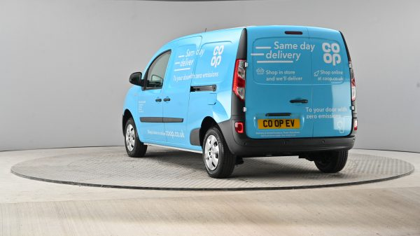 Co-op has announced plans to replace its entire delivery fleet with zero-emission electric vehicles by 2025.