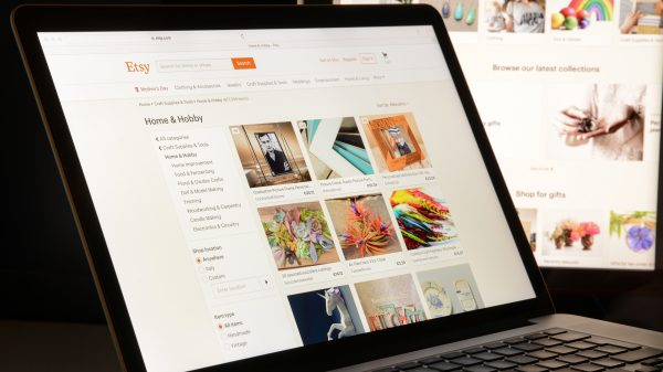 Etsy saw revenues surge nearly 130 per cent during its fourth-quarter blitzing analyst expectations and driving its stock up over five per cent.