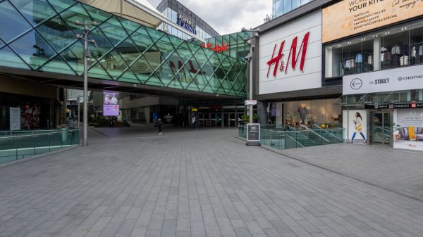 Westfield's Stratford City shopping centre has been transformed into a COVID-19 vaccination centre aiming to provide thousands of shots every day.