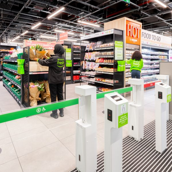 Amazon has opened its third physical Amazon Fresh grocery store in the UK since the beginning of March as it continues its rapid roll out across Greater London.