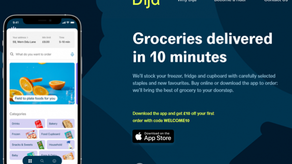Dija, a brand new 10-minute delivery service from two former senior Deliveroo staff, has been launched in London today.