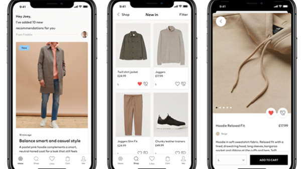 H&M has launched a new personal styling app for men, using machine learning to offer users unique curated suggestions from its entire catalogue.