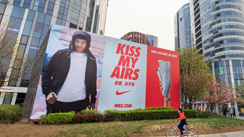 Nike and Adidas have seen sales in China plummet as a state-media driven boycott continues to hammer western brands.