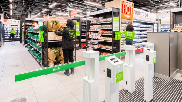 Amazon has opened its fourth London supermarket in the heart of Canary Wharf as it launches a wider rebrand of its Amazon Go Grocery stores.