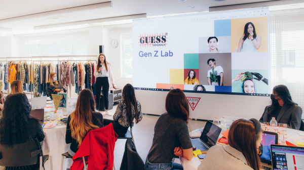 Guess has partnered with Microsoft to launch a new concept designed to collaborate and exchange ideas with Gen Z shoppers directly.