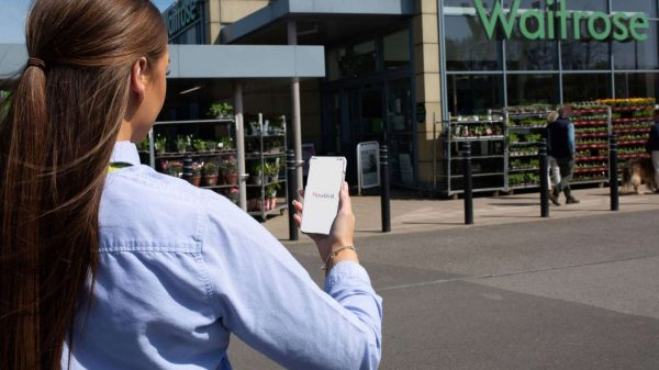 Waitrose is introducing a new contactless parking app allowing shoppers to pre-book parking spaces at over a dozen new stores.