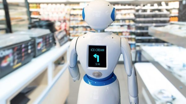 Retailer workers in the UK are some of the most at risk of seeing their jobs replaced by automation in the next few years.