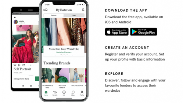 Westfield London is partnering with fashion rental app, By Rotation, to open the brand's first ever bricks and mortar pop-up store.