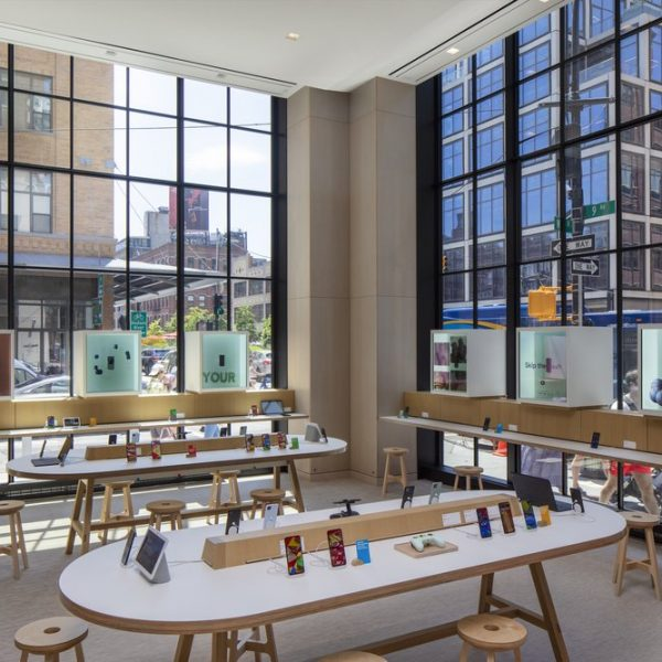 Google has officially opened the doors to its first ever physical retail store in New York providing a raft of interactive experiences where shoppers can explore its expansive range of hardware.