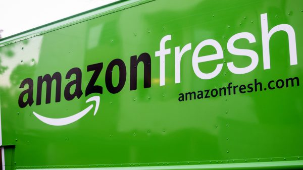 Amazon is set to nearly double its online food sales globally over the next five years seeing it overtake the US' largest retailer Walmart.