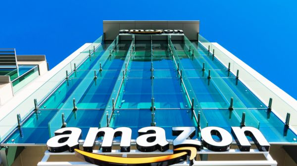 Amazon's shares have dropped more than seven per cent in after hours trading as its first set of financial results under its new chief executive miss expectations.