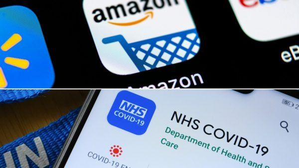 Amazon's former UK boss Doug Gurr could soon become the chief executive of the NHS after he applied to succeed Lord Stevens of Birmingham when he leaves next month.