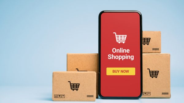 Online retail sales fell at their highest rate in history last month despite overall spending remaining high amid fears the online boom could be coming to an end.