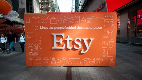 Etsy has seen the number of active sellers on its platform almost double as over two million people looked to side hustles during the pandemic.