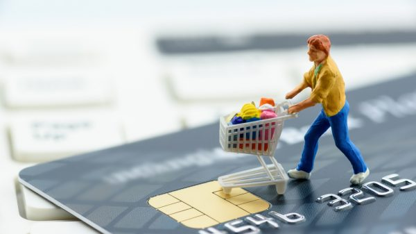 UK shoppers are expected to spend £120.5 billion online this year accounting for over 30 per cent of the total retail spending for the first time.