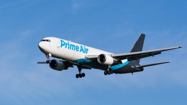 Amazon is now making an average of 164 flights every day in order to transport its stock across the US, as it positions itself to take on third-party deliveries.
