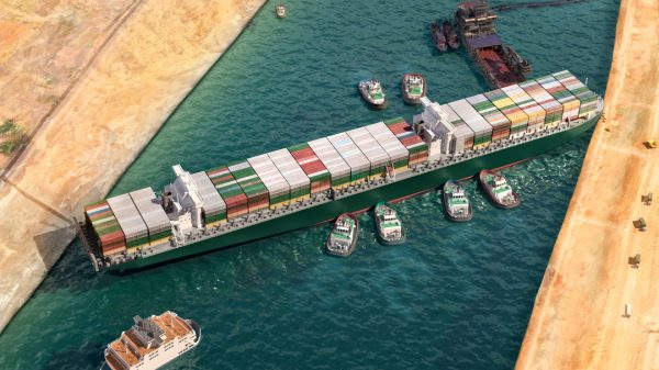 The Ever Given, the ship that was trapped in the Suez Canal for six days disrupting global trade, is to be released following a settlement