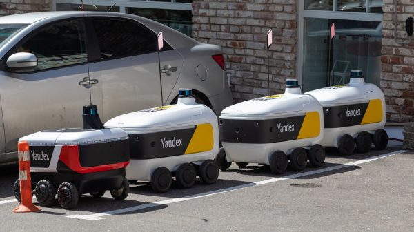 Grubhub has announced a multi-year partnership with Russian tech giant Yandex to deliver food to US college campuses with self-driving vehicles.