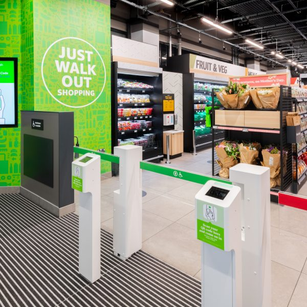 Amazon is expected to open its sixth Fresh grocery store in London in Bankside's Blue Fin Building over the next few weeks.