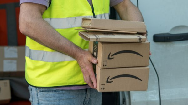 Amazon now employs one in every 153 workers in the US after hiring tens of thousands of new staff to meet demand during the pandemic.