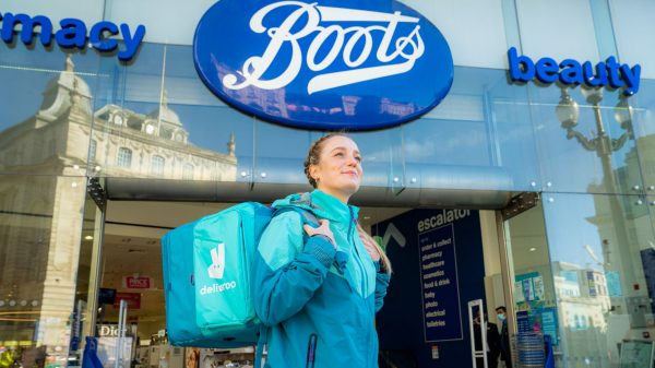 Boots has become the latest major retailer to partner with Deliveroo as it looks to expand its product offering beyond groceries.