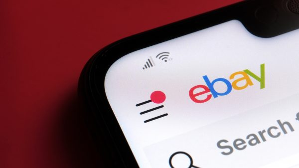 Ebay's shares have dipped two per cent in extended trading as it became the latest online retailer to show signs the pandemic-driven online boom is ending.