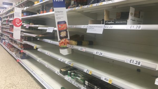 Over a quarter of food retailers and hospitality firms in the UK are facing stock shortages due to the ongoing driver shortage battering the country's supply chains.