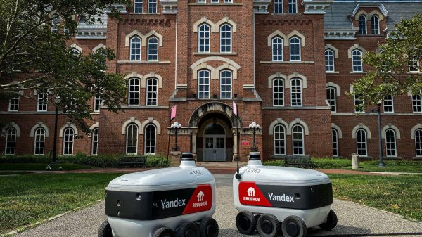 """Grubhub has launched 50 new """"cutting-edge"""" autonomous delivery robots bringing """"smarter, better and faster"""" deliveries to 60,000 students."""