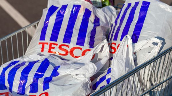 Tesco is introducing carrier bags made from recycled plastic waste across its international store estate in its latest sustainability drive.