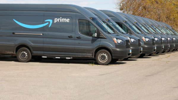 Amazon was the largest private parcel courier in the UK last year as it capitalised on the dramatic increase in delivery volumes during lockdown.