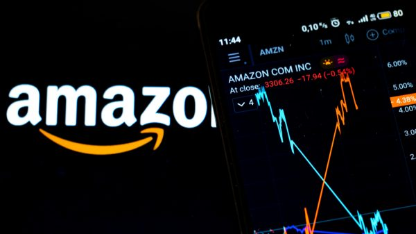 Amazon's share price took a battering yesterday after Morgan Stanley warned that increases in both wages and workforce will drive down its profit margins.