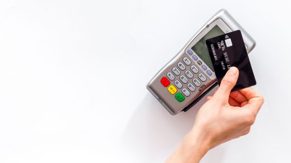"""Card payments hit their highest level in nearly two years over the bank holiday weekend, in what experts say is """"a sign of more positive times to come""""."""