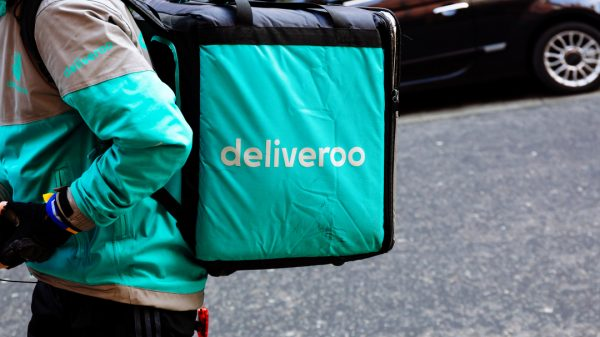 """Deliveroo has announced it is launching its own rapid grocery delivery service, """"Hop"""", to take on its rivals Gorillas, Getir and Weezy."""