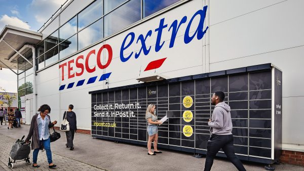 Tesco has announced it is partnering with parcel collection locker brand InPost to offer its customers the chance to pick up and return orders from other retailers.