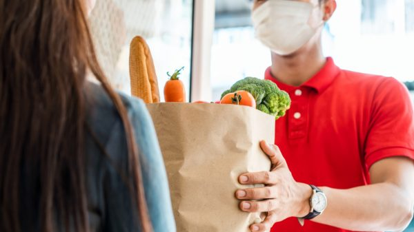 """Online grocery's meteoric rise during the pandemic has driven the recent """"interest in British grocers from cash-rich investment firms from across the pond"""", according to experts."""