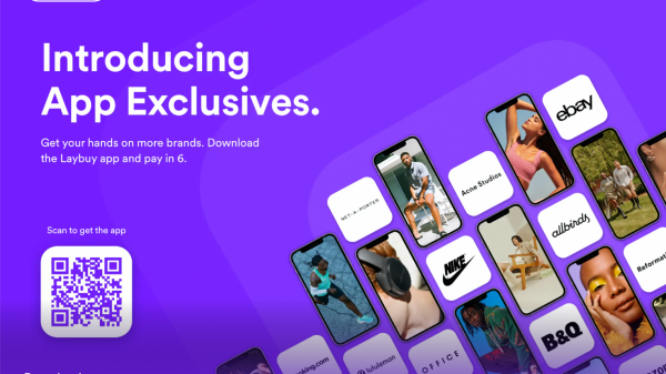 """Laybuy has announced it is launching a """"pay in six"""" scheme throughout its catalogue of brands which is exclusively available on the Laybuy app."""