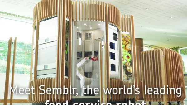 Ocado has launched a new high-tech meal preparation robot at its headquarters enabling staff to customise their meals down to the gram.