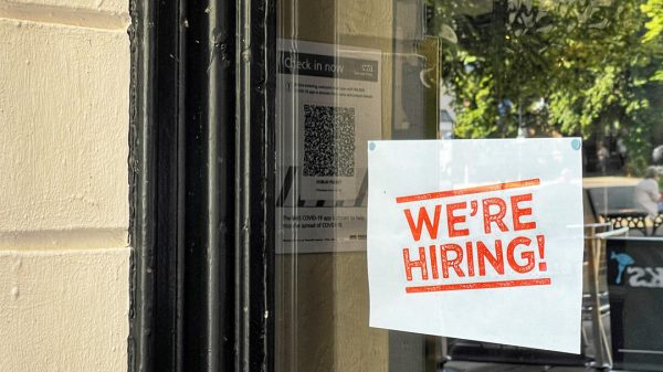 """UK retailers are """"fighting a losing battle to recruit the right people"""" as new figures reveal that more than one in eight businesses are struggling to find staff."""