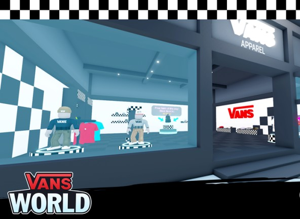 Vans has become the latest brand to delve into the world of digital fashion as it launches a digital store in Roblox.