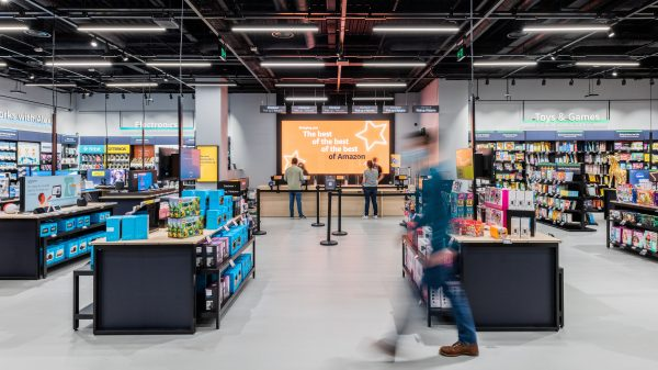 Amazon is opening its first ever 4-star mini-department store outside of the US in Dartford's Bluewater shopping centre as it continues its blitz of the UK's highstreets.