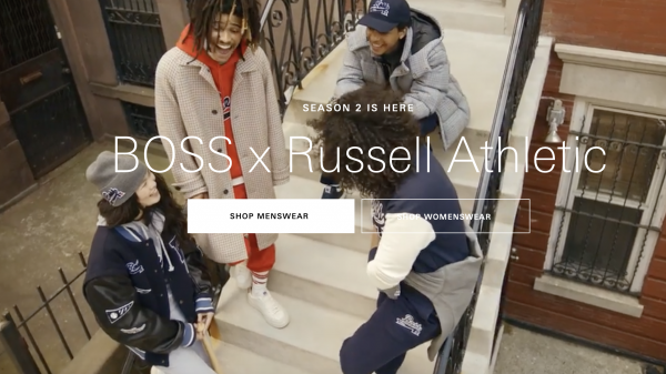 Hugo Boss managed to capture the largest social media coverage in fashion week history with the launch of the Boss x Russell Athletic collection.