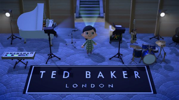 Ted Baker has made its first step into the clothing gaming market by showcasing its AW21 collection on Animal Crossing: New Horizons.