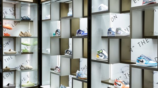 Harrods is launching its first ever boutique store for limited edition trainers amid a new tie up with The Edit LDN.