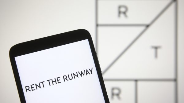 Rent the Runway saw its shares leap on its stock market debut on Wednesday on the Nasdaq.